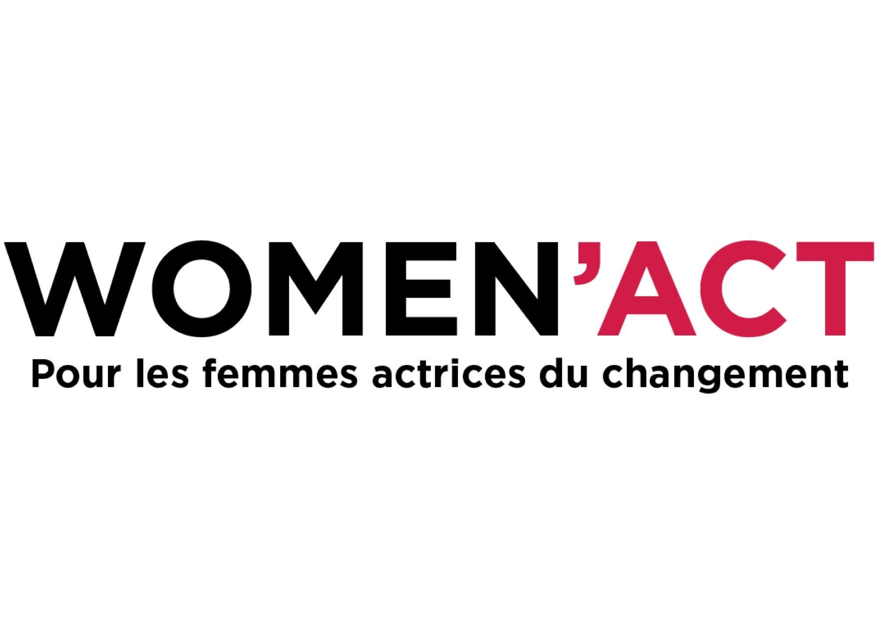 Logo de Women Act, programme porté par Empow'Her, dont fait partie Kairosarium