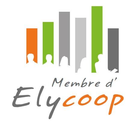 Logo membre d'Elycoop, société coopérative, pour Kairosarium
