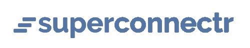 Logo Superconnect au bleu Assopreneur·e