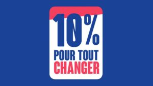 Assopreneur·e est membre du collectif 10% pour tout changer, lancé par Christophe Itier, Haut Commissaire à l'ESS