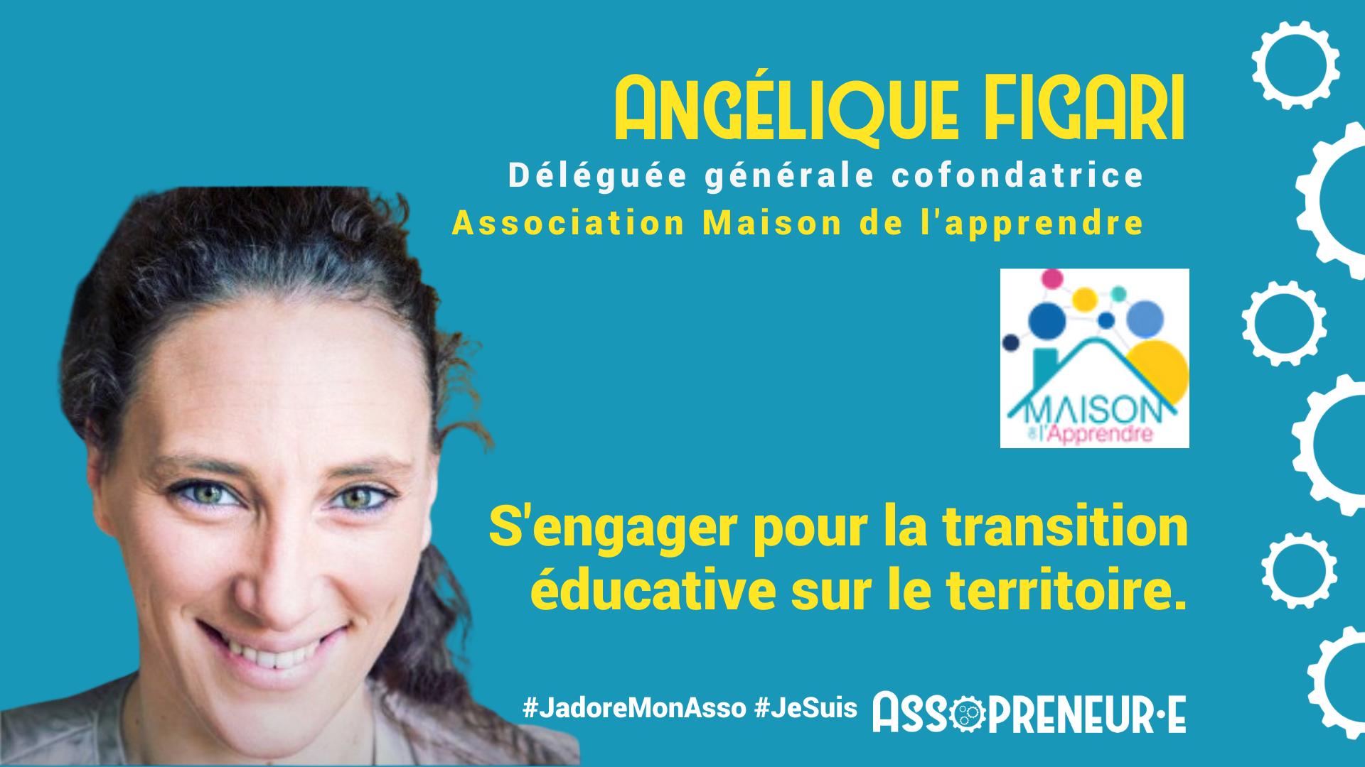 Angelique Figari membre programme assopreneur