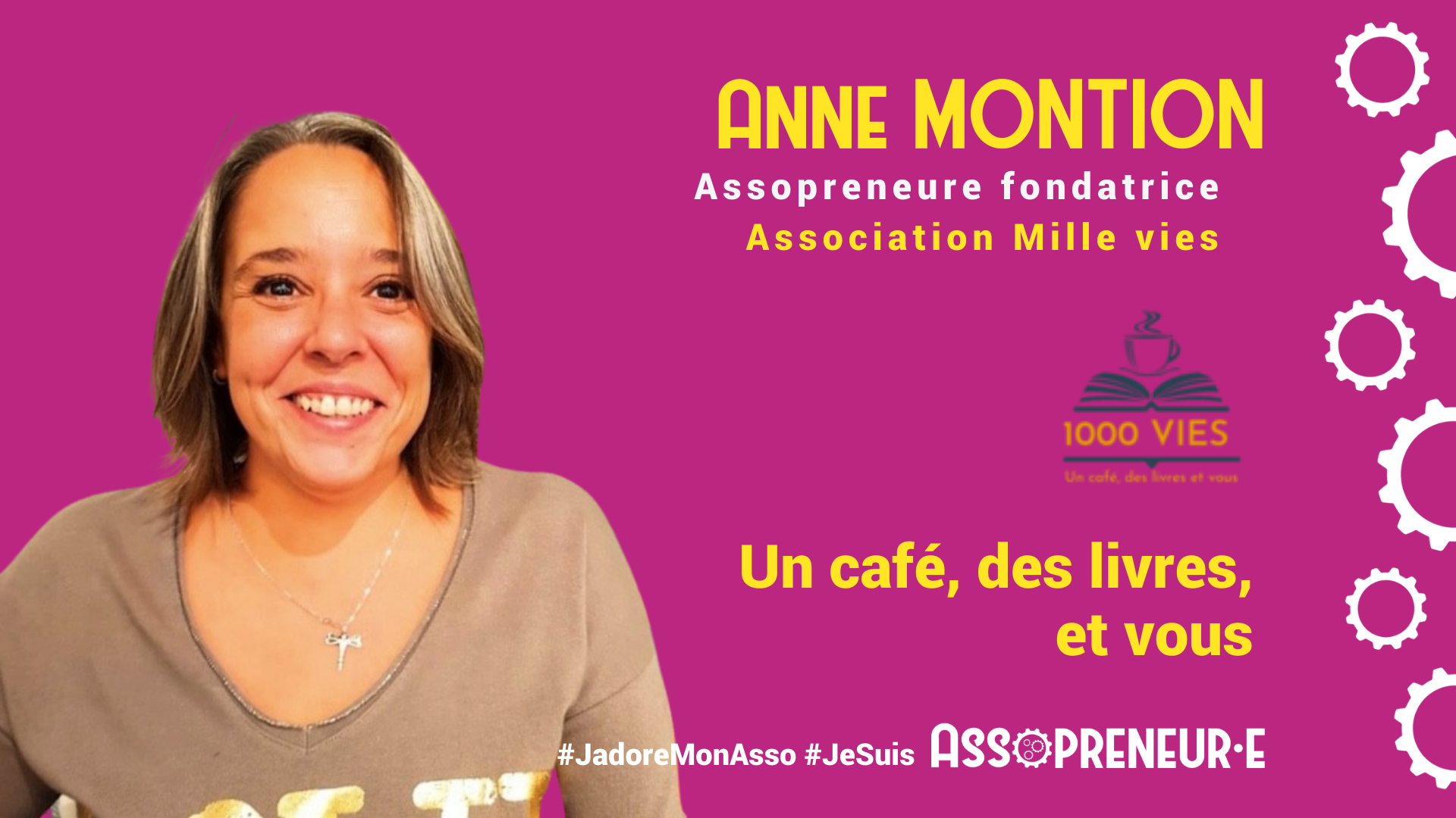 Anne Montion membre programme Assopreneur
