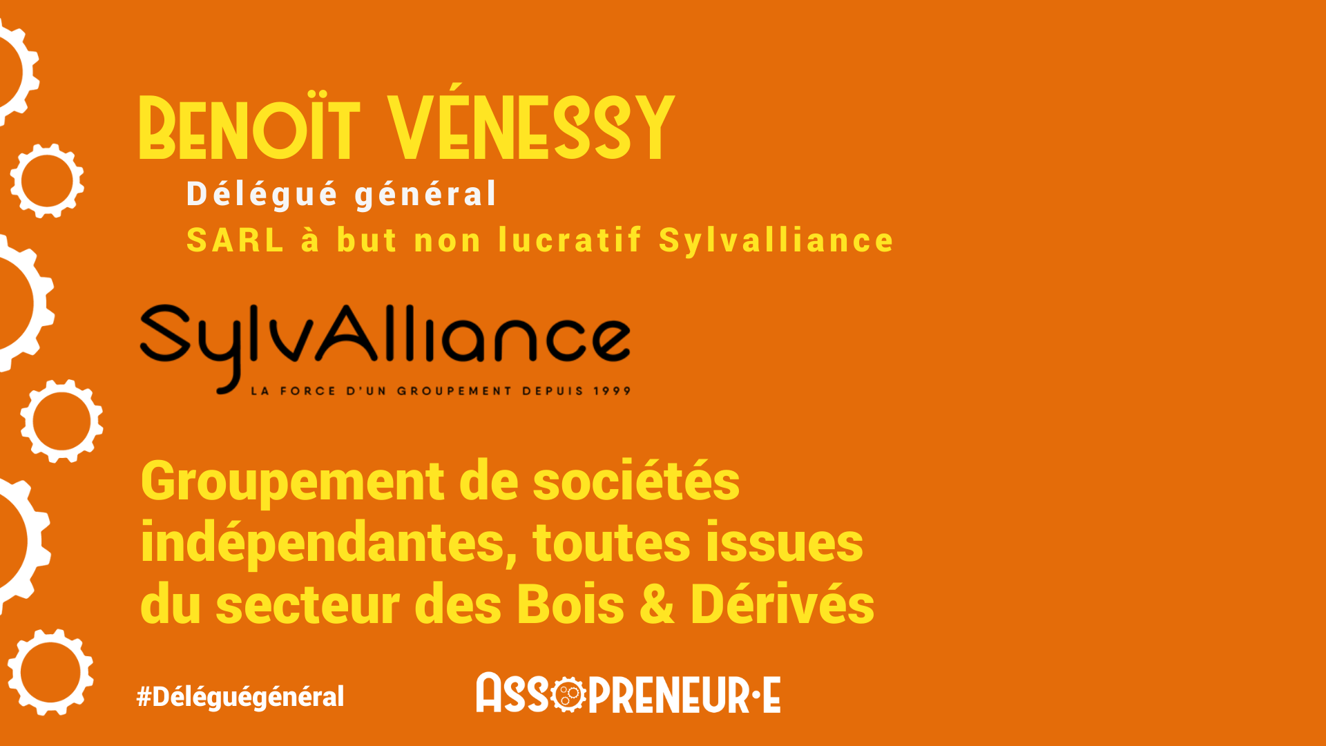 Benoit Venessy membre programme Assopreneur