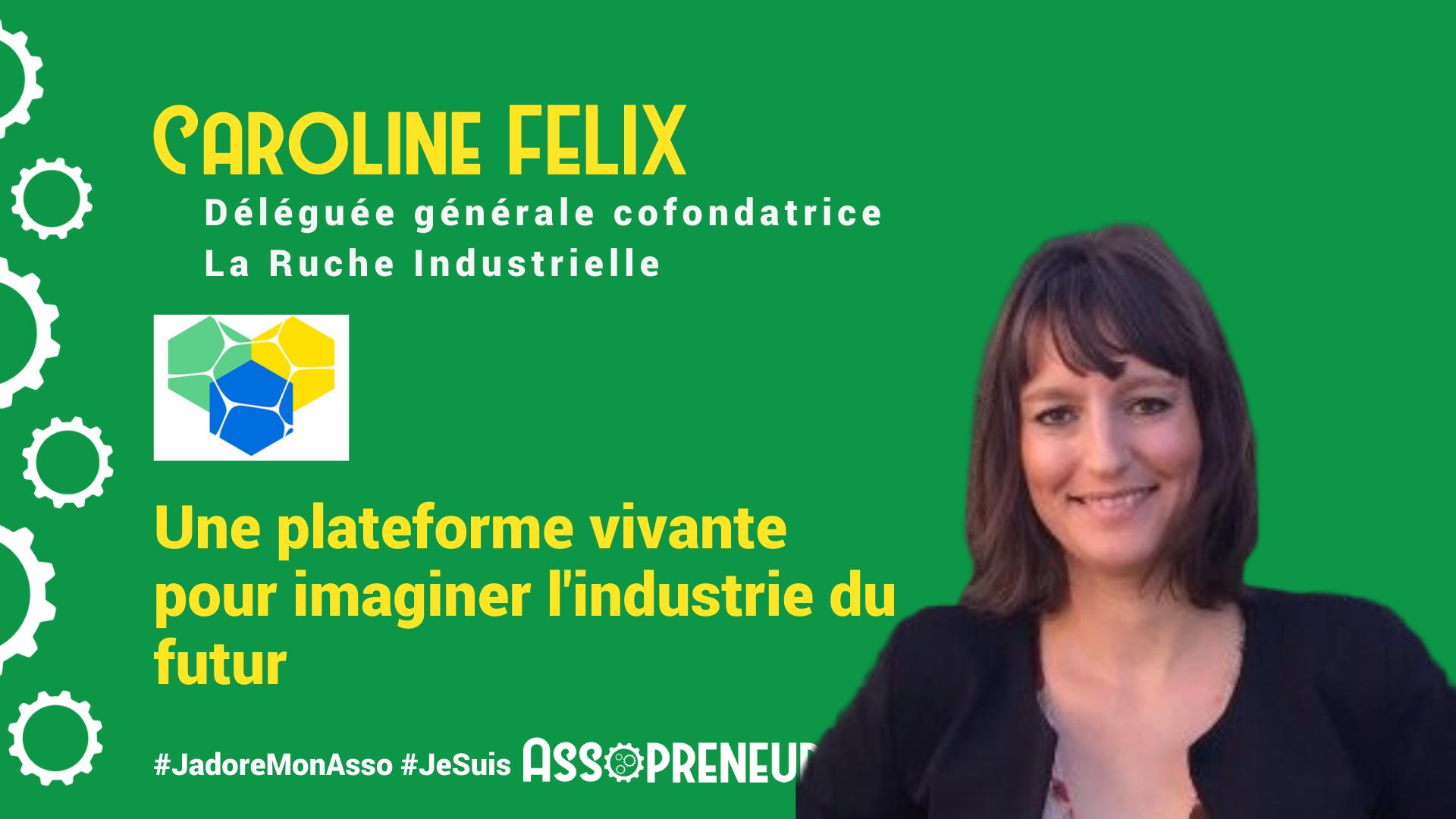 Caroline Felix membre programme Assopreneur