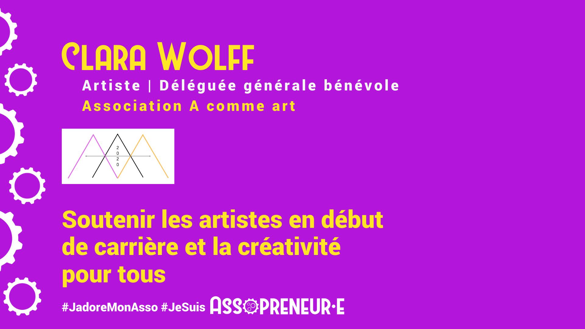 Clara Wolff membre programme Assopreneur