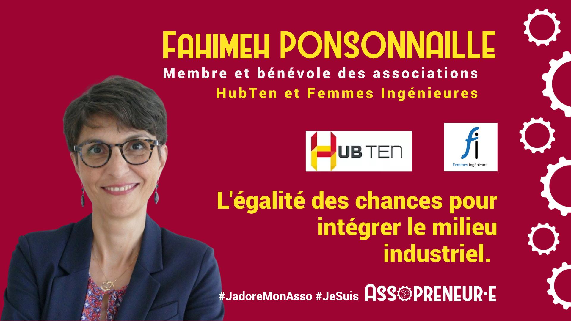 Fahimeh Ponsonnaille membre programme Assopreneur