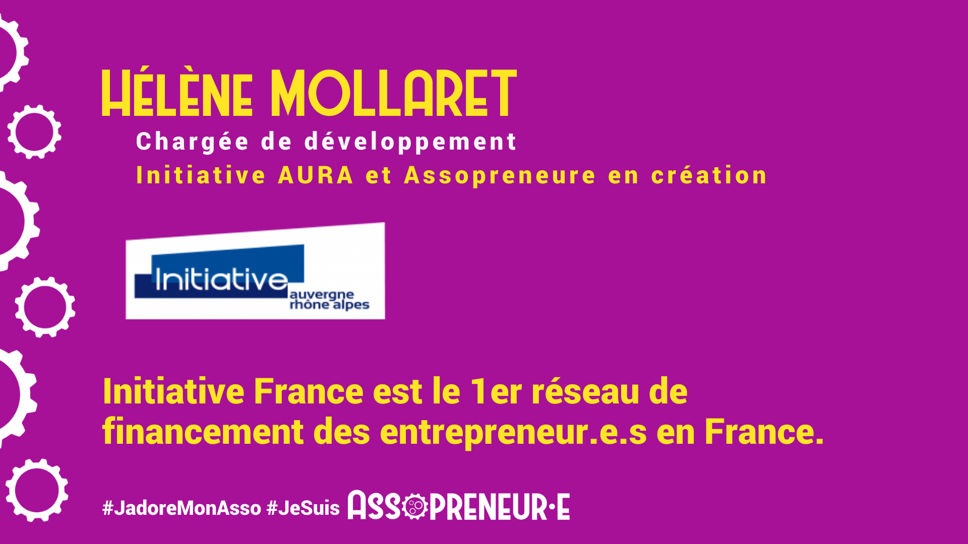 Helene Mollaret membre programme Assopreneur