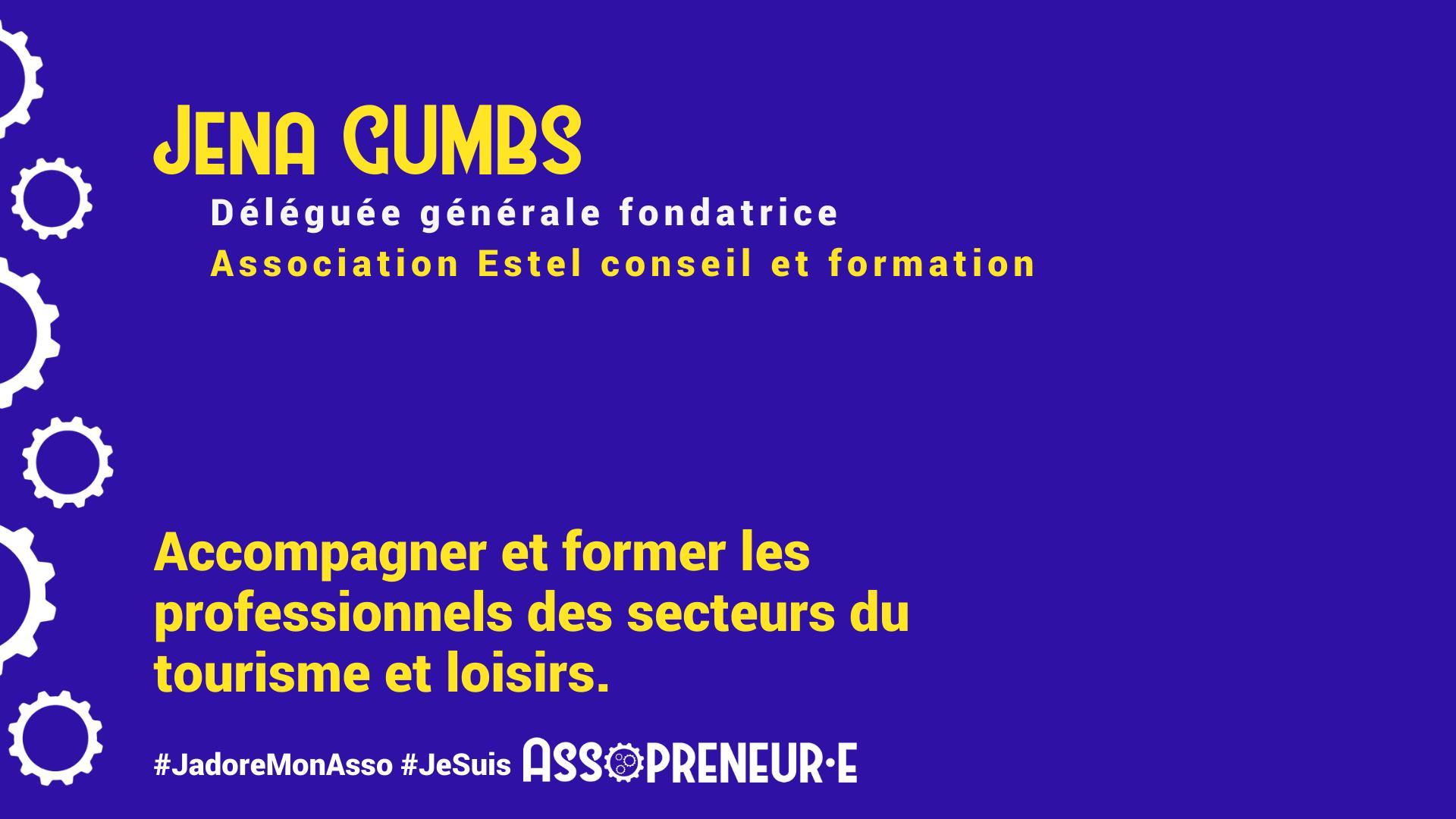 Jena GUMBS membre programme Assopreneur
