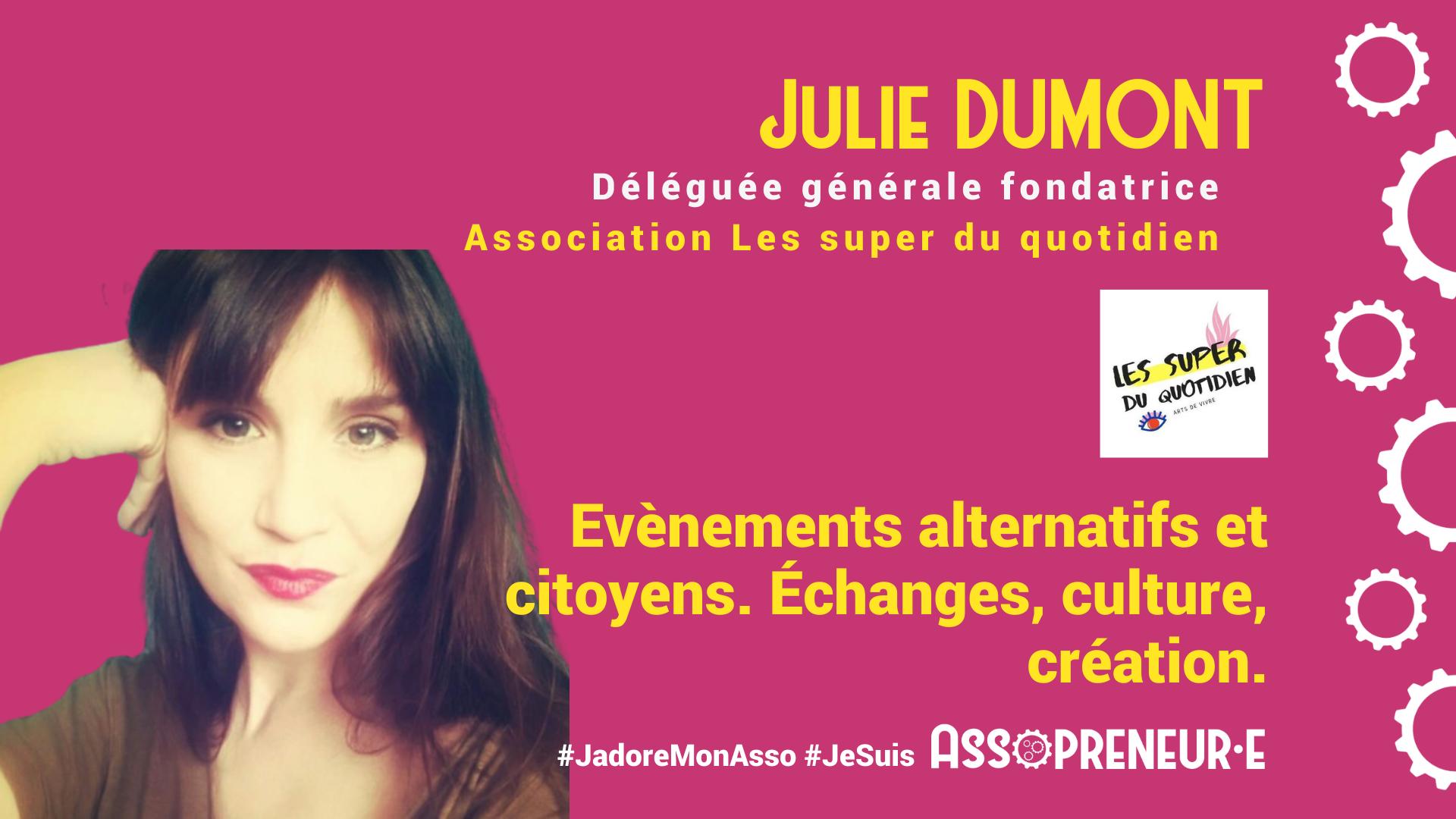 Julie DUMONT membre programme Assopreneur