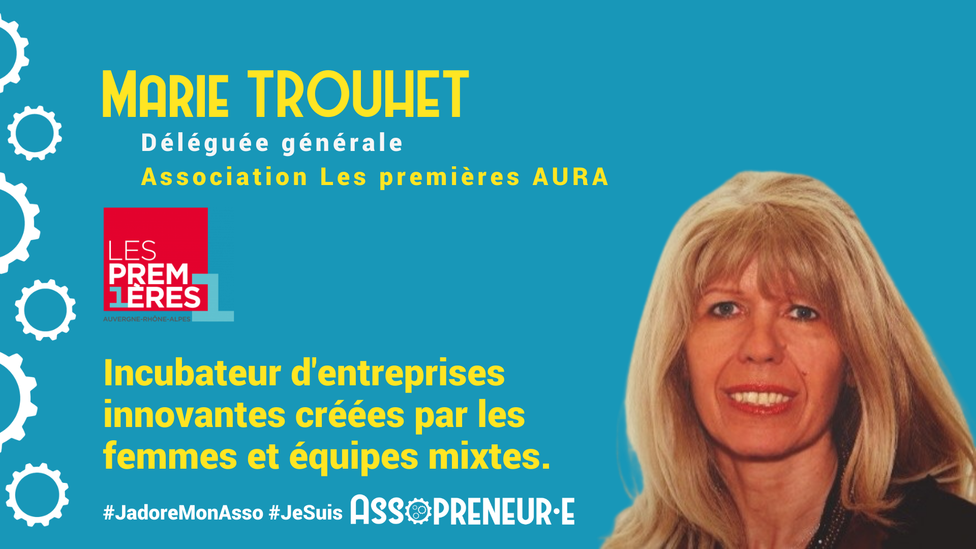 Marie TROUHET membre programme Assopreneur
