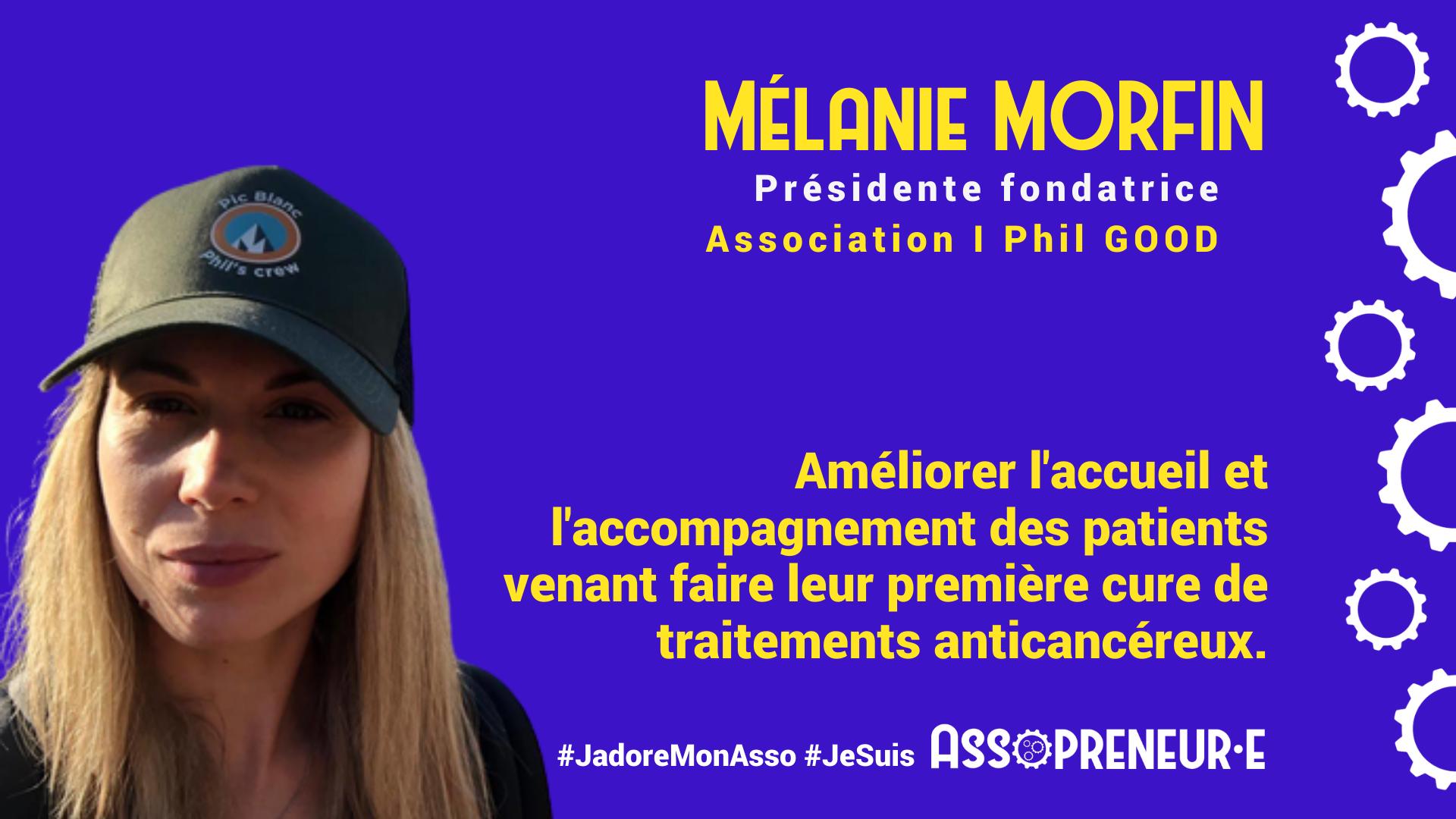 Mélanie MORFIN membre programme Assopreneur