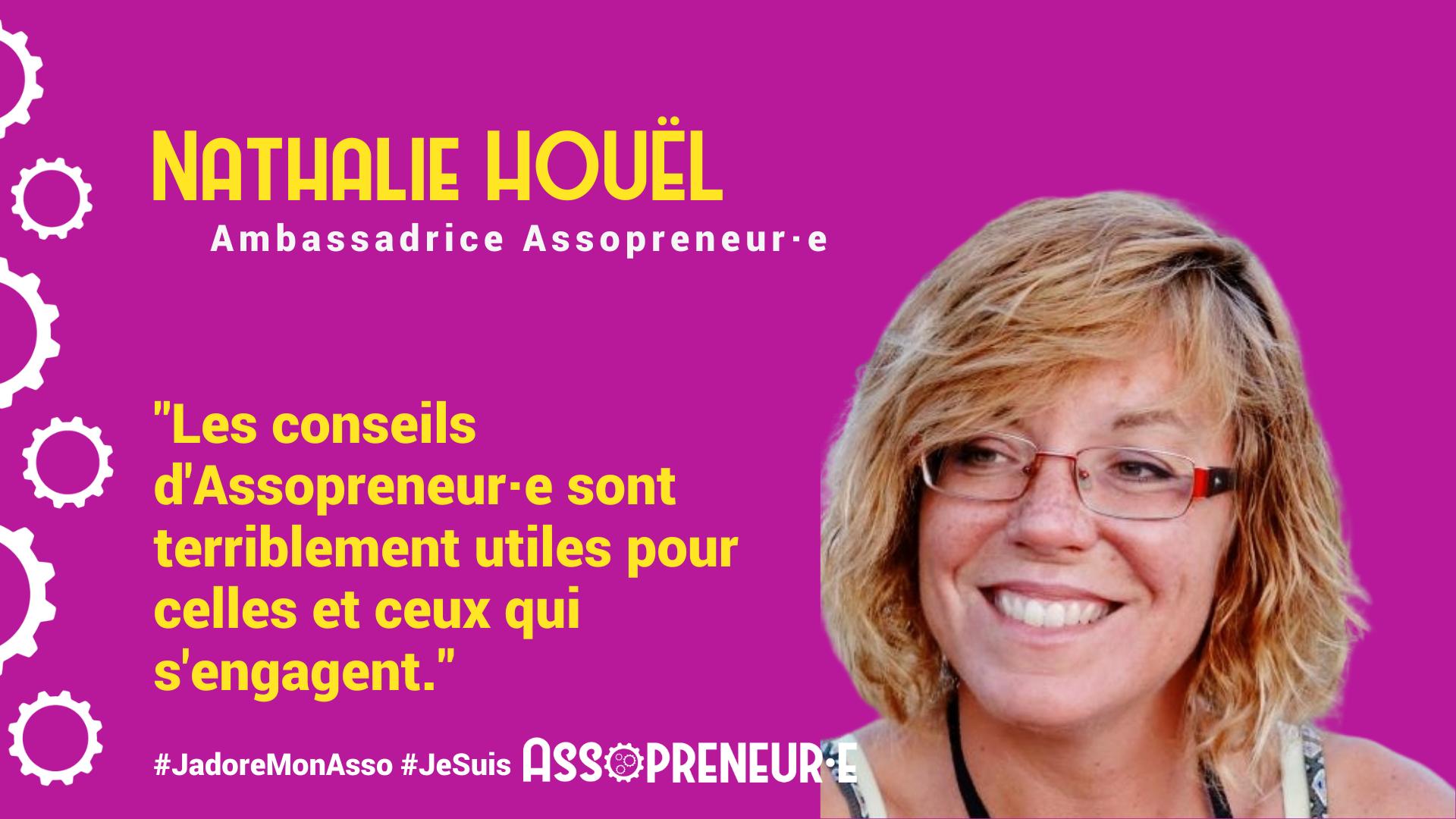 Nathalie HOUEL membre programme Assopreneur