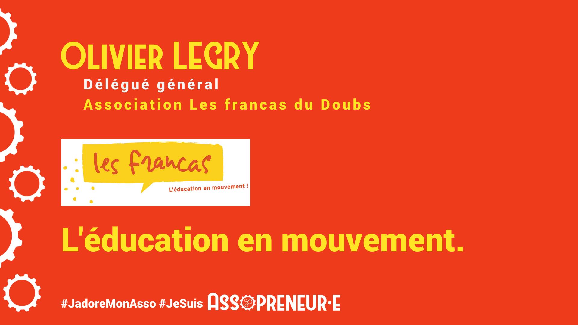 Olivier LEGRY membre programme Assopreneur