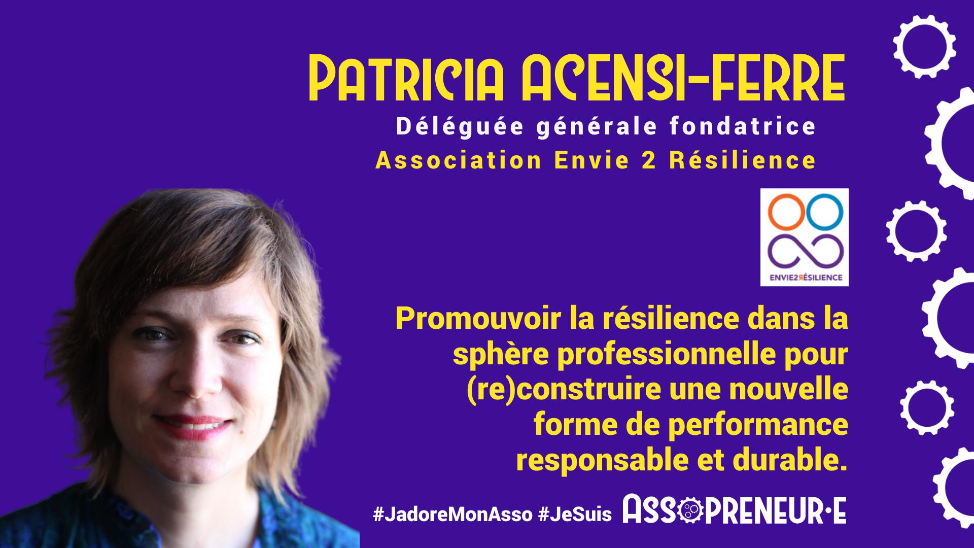 Patricia ACENSI FERRE membre programme Assopreneur
