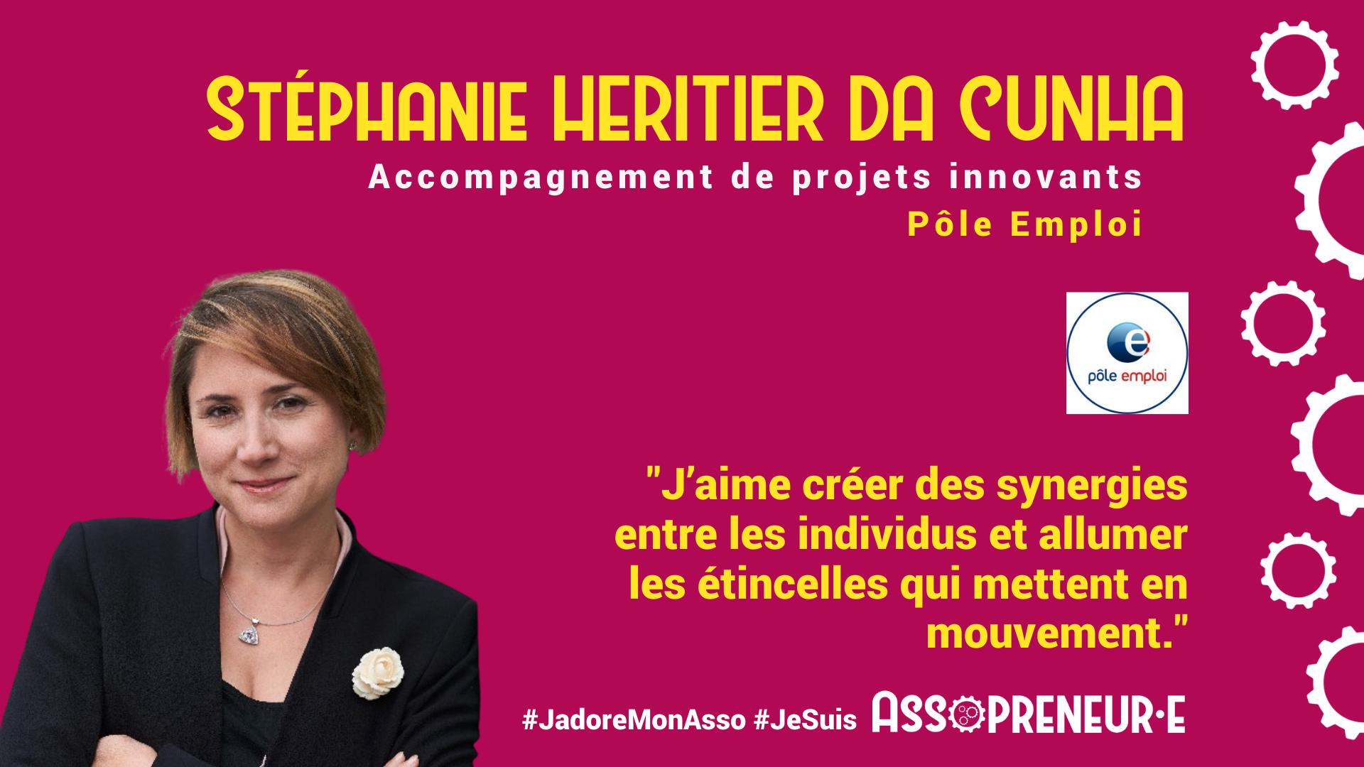 Stéphanie Héritier Da Cunha membre programme Assopreneur