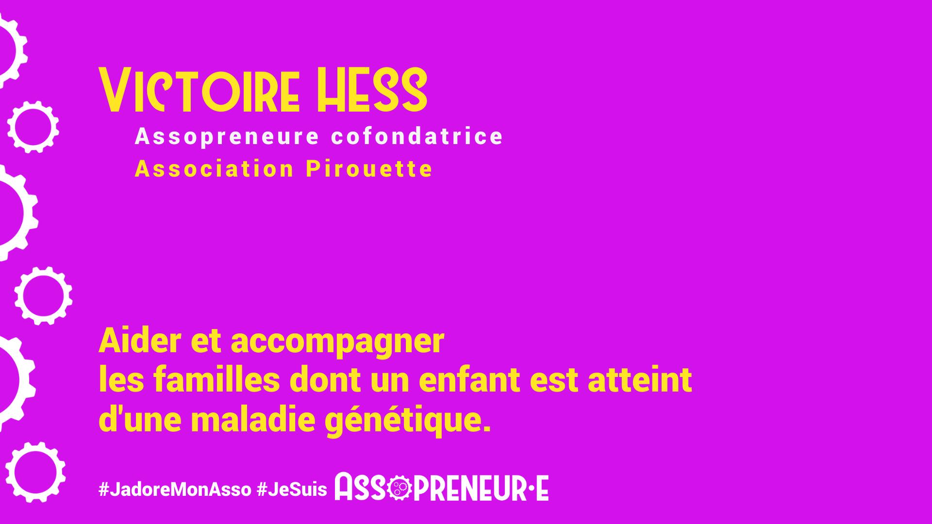 Victoire HESS membre programme Assopreneur