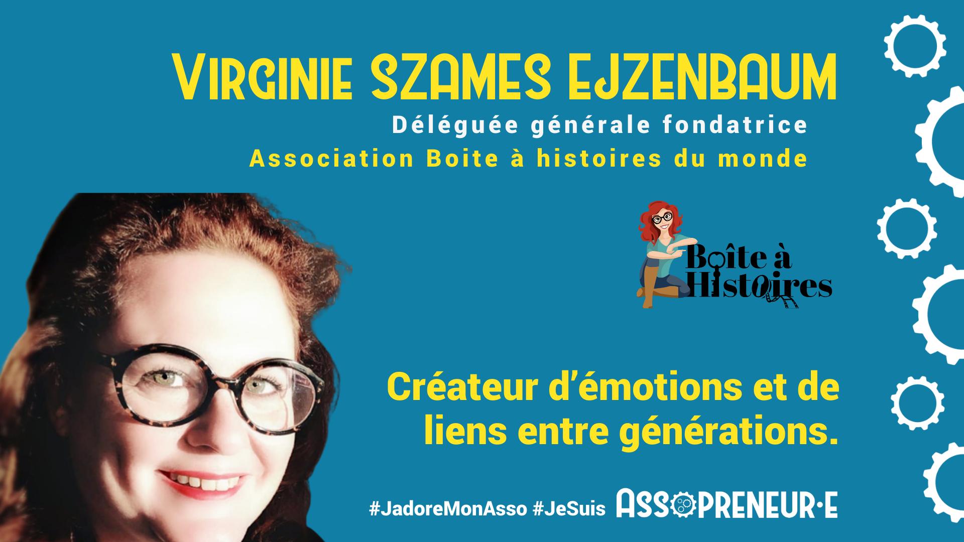 Virginie SZAMES membre programme Assopreneur