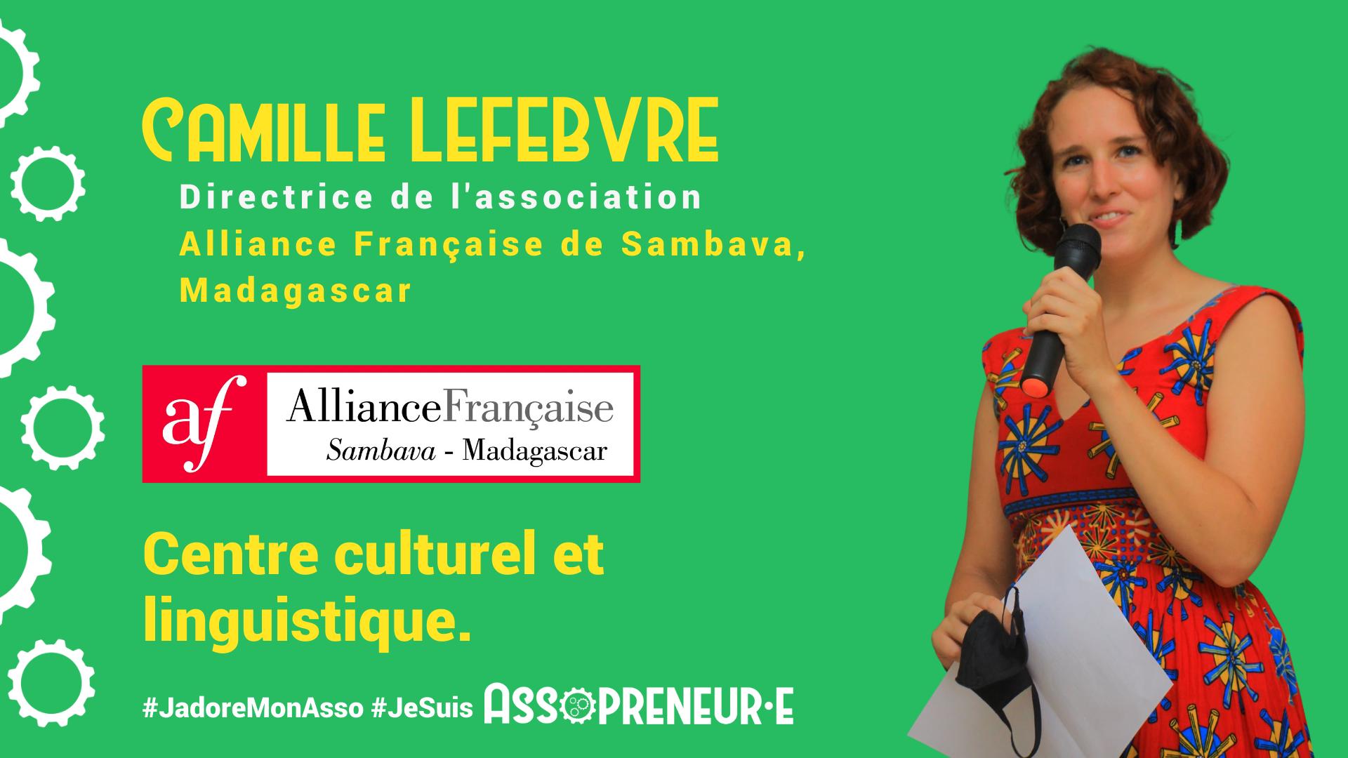 Camille Lefebvre membre programme Assopreneur