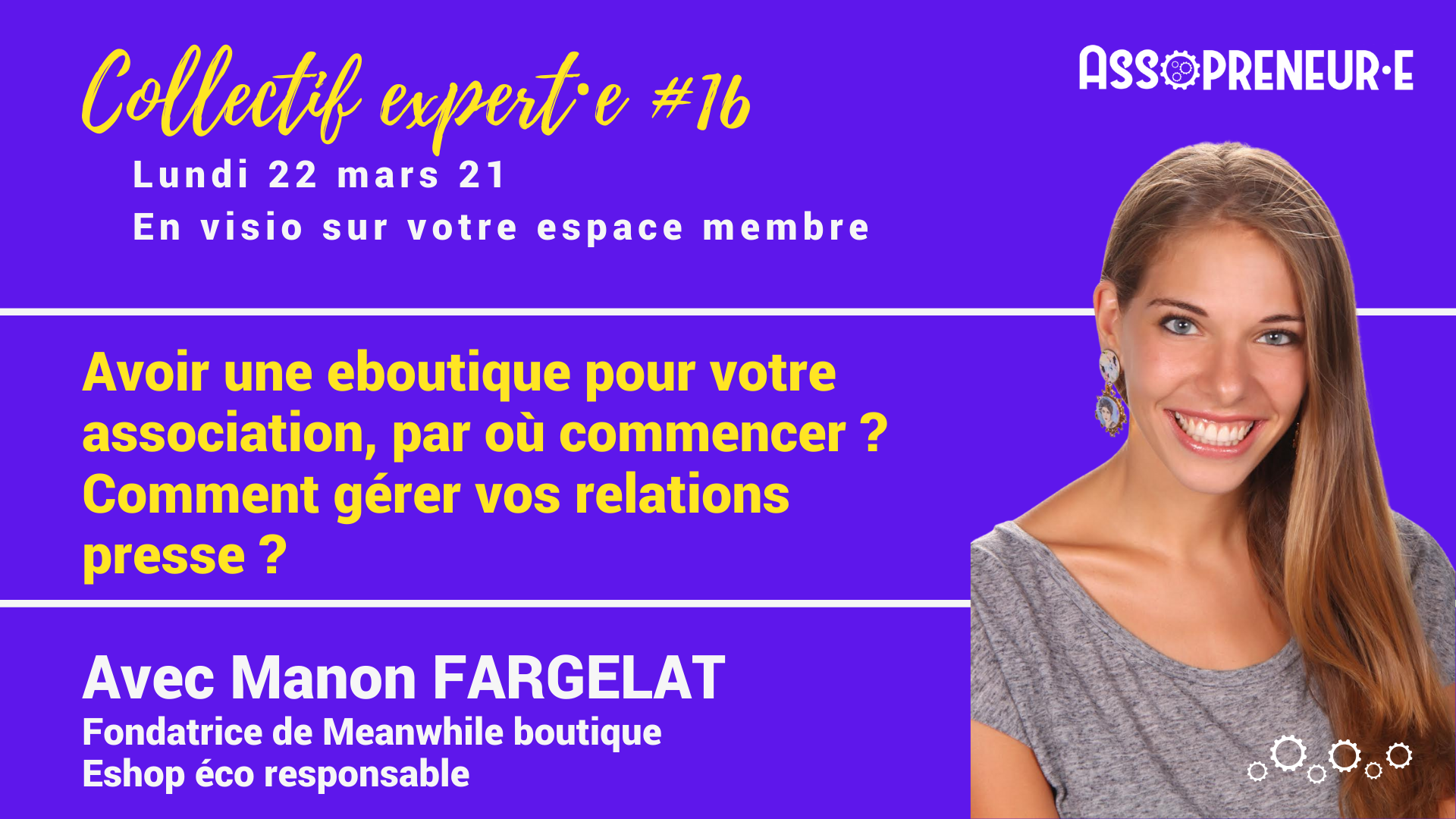 Collectif expert 17 Manon Fargelat assopreneur