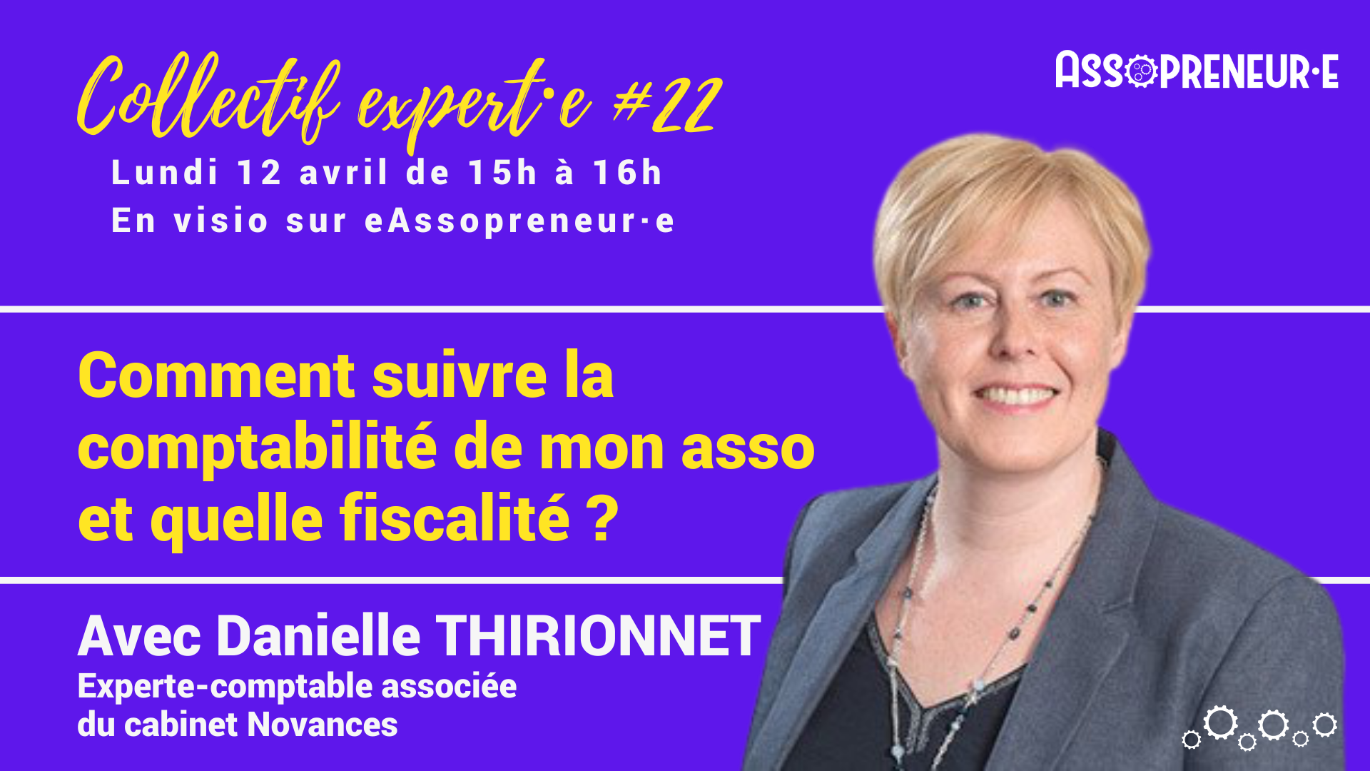 Collectif expert 22 Danielle Thirionnet Assopreneur