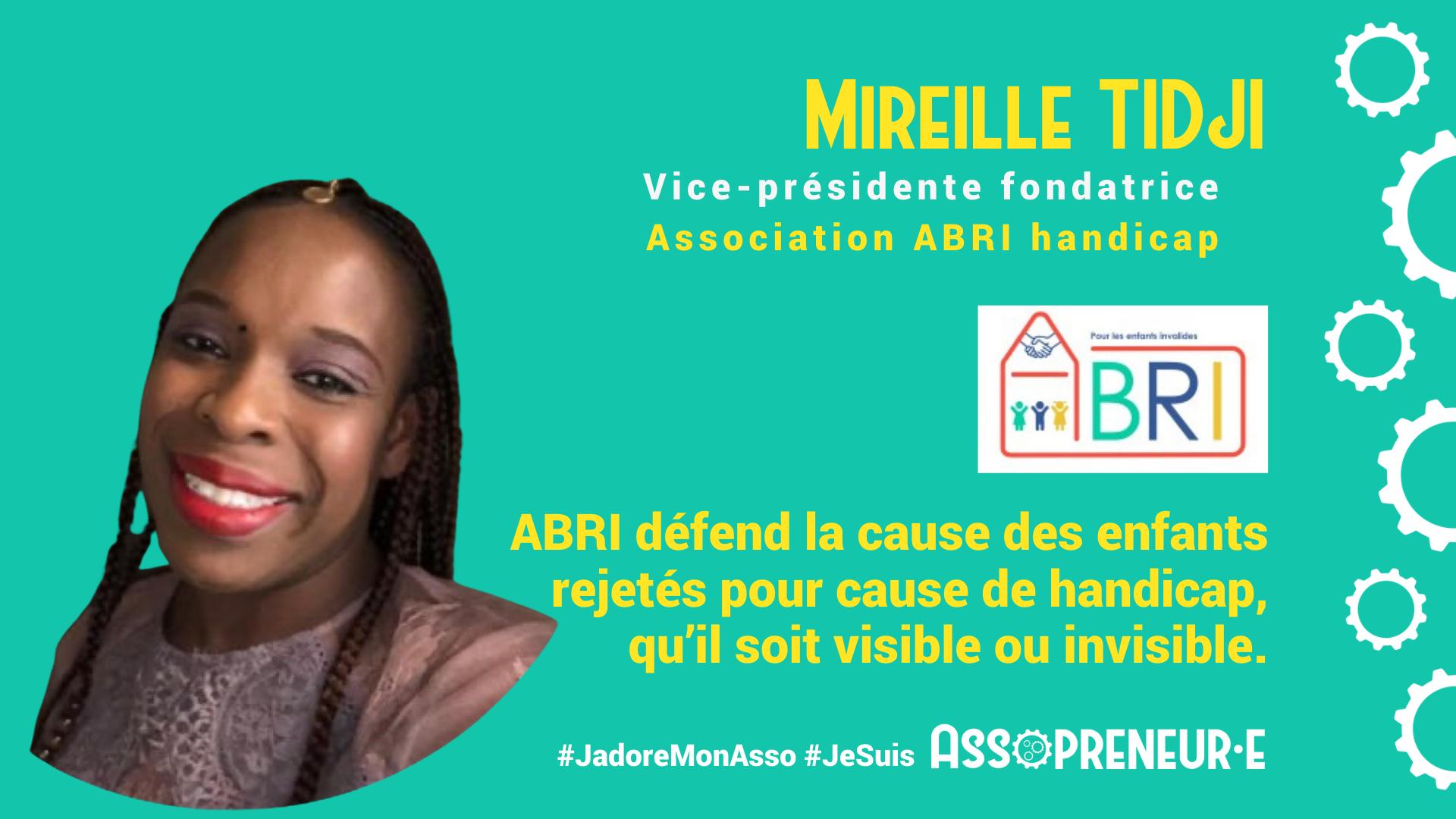 Mireille TIDJI membre programme Assopreneur