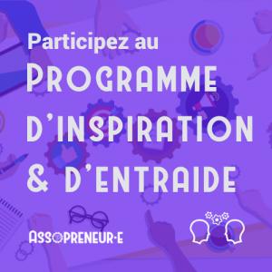 Participez au programme
