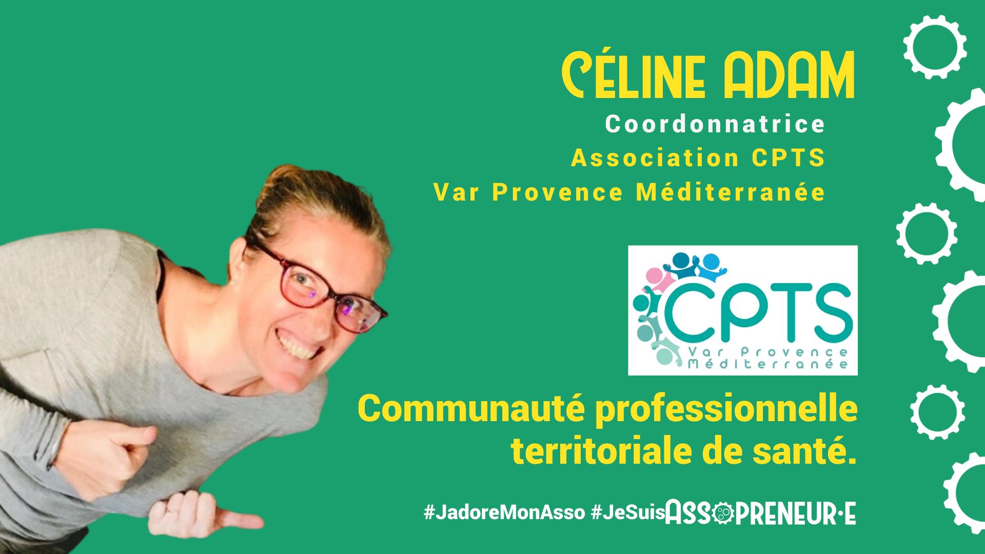 Céline ADAM membre programme Assopreneur