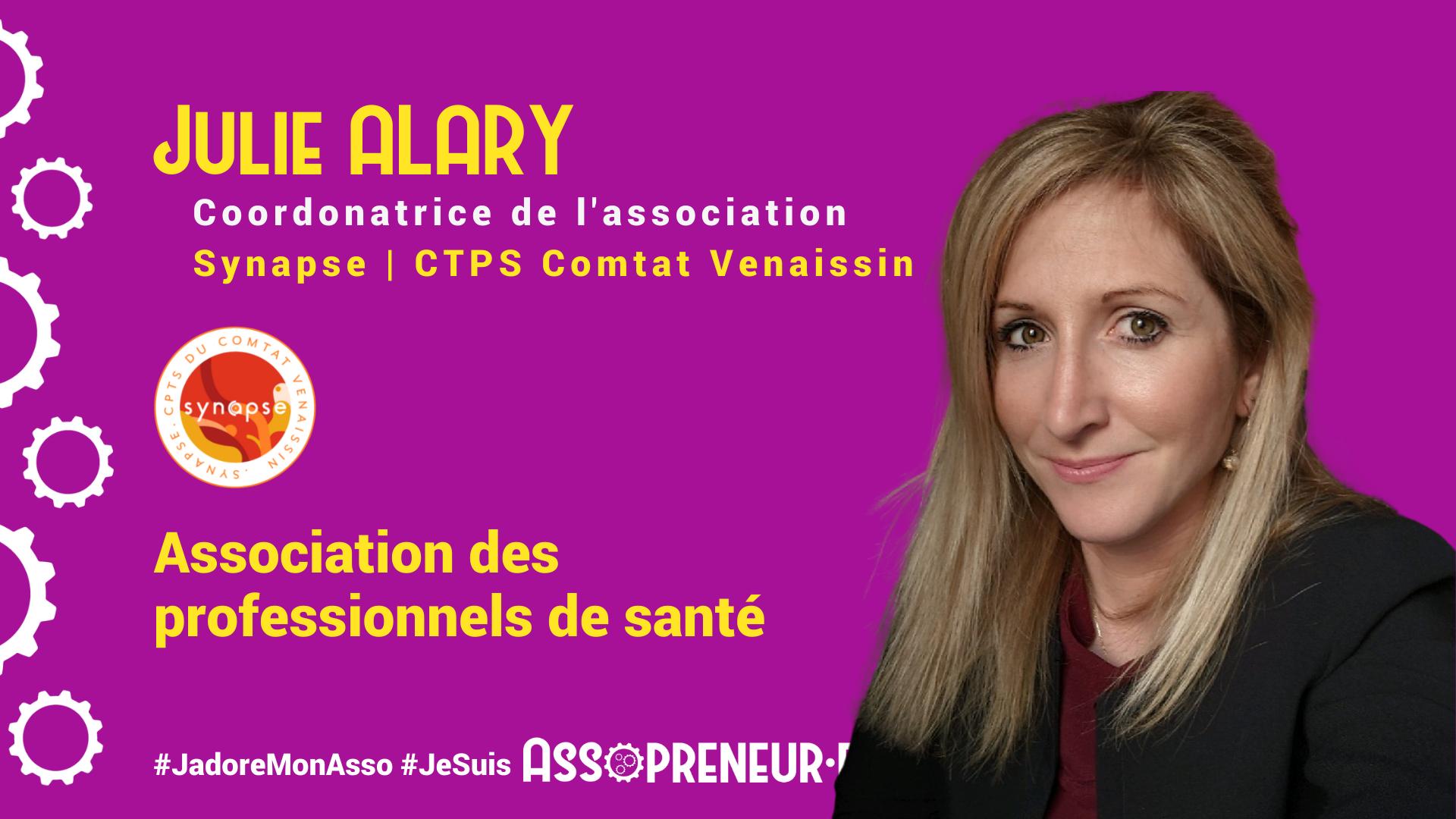 Julie ALARY membre programme Assopreneur