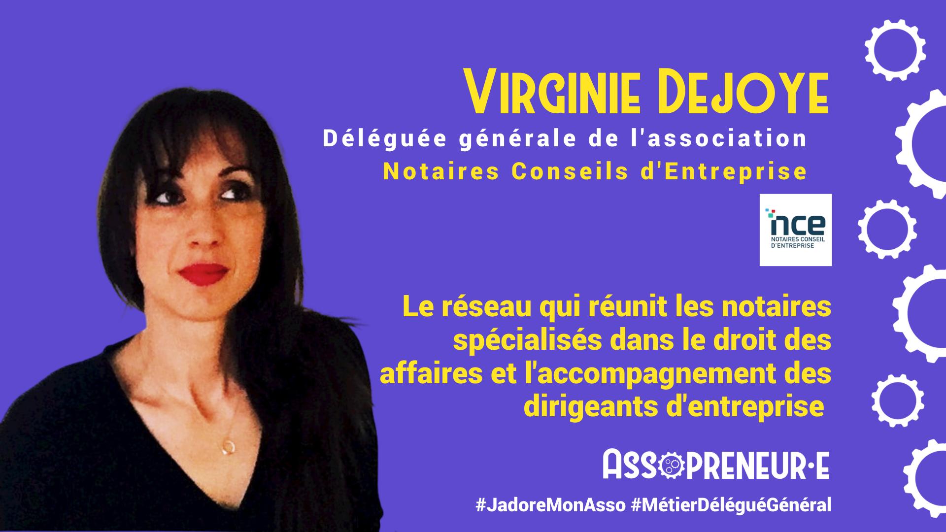 Virginie DEJOYE membre programme Assopreneur