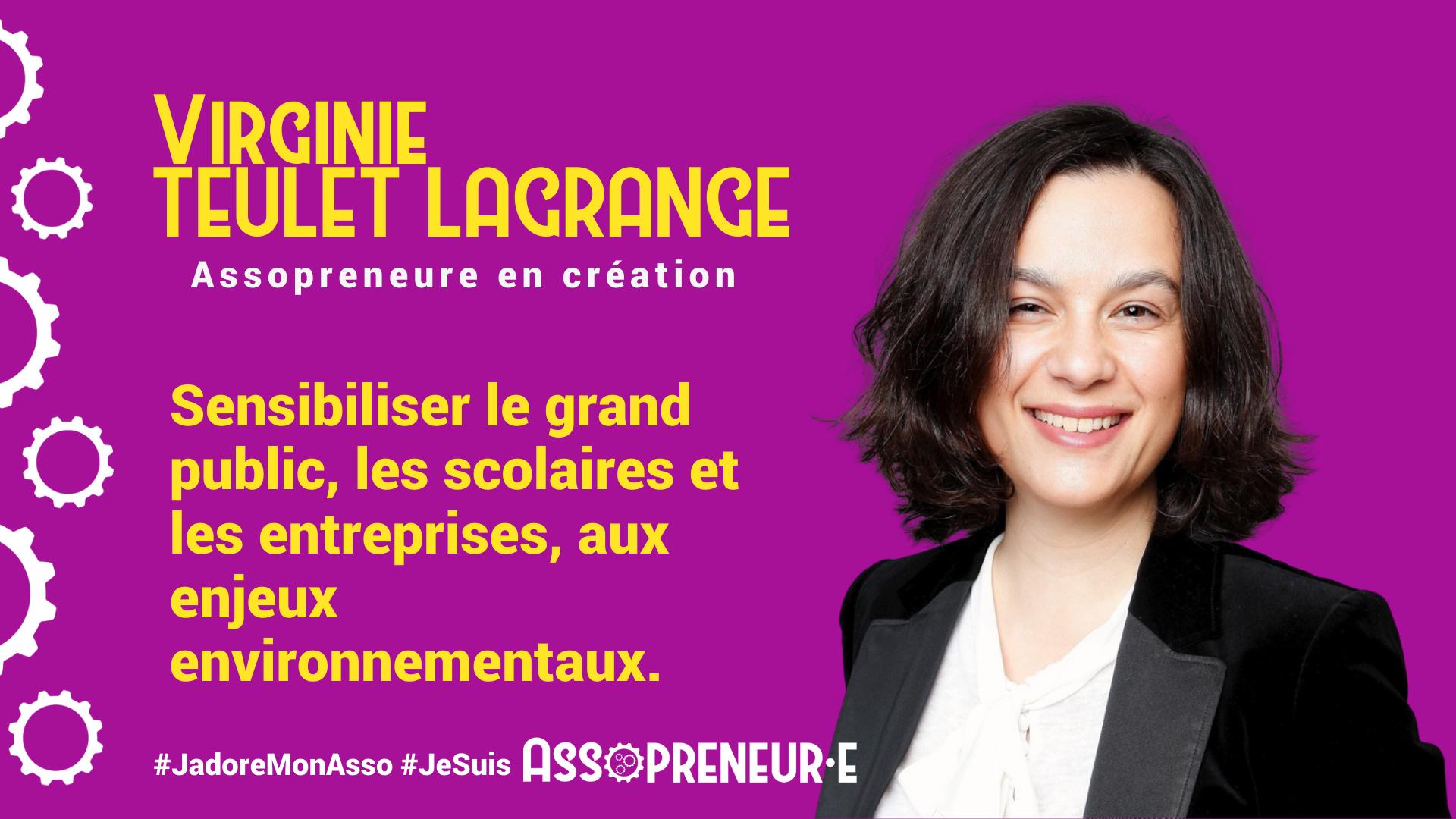 Virginie TEULET LAGRANGE membre programme Assopreneur